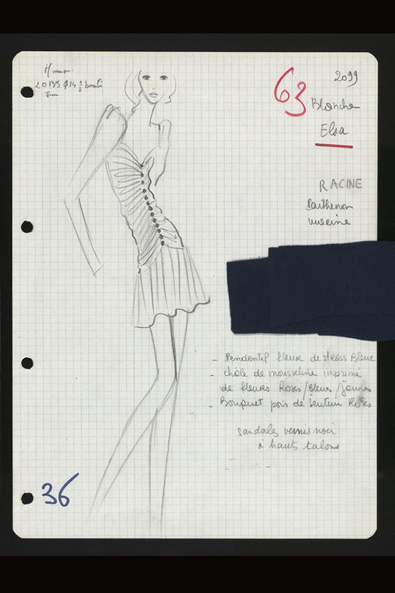Yves Saint Laurent Haute Couture S/S 1971, La collection du scandale