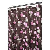 Found it at Wayfair - Watershed Prints Polyester Starburst Floral Shower Curtain