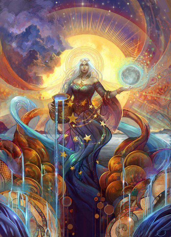 """""""Sea, Sun, Stars"""" - Julie Dillon"""