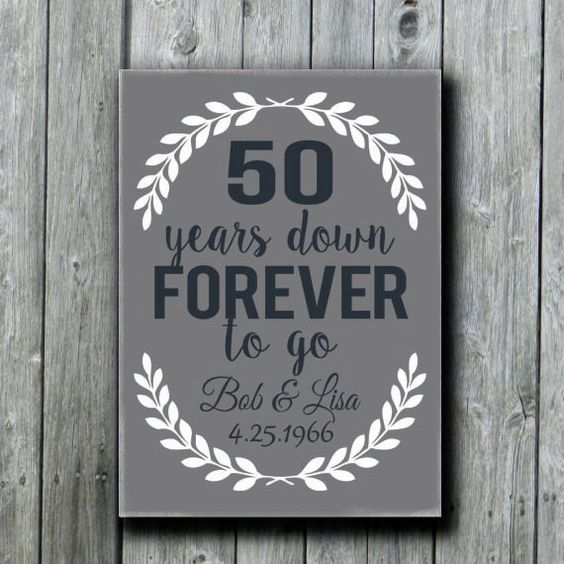 Gift Ideas 60th Wedding Anniversary Grandparents : ... anniversary gifts golden anniversary gifts grandparents etsy gifts
