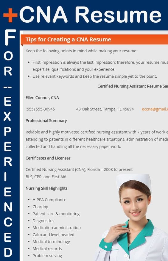 image gallery of beautiful design cna resume no experience 6 - entry level cna resume