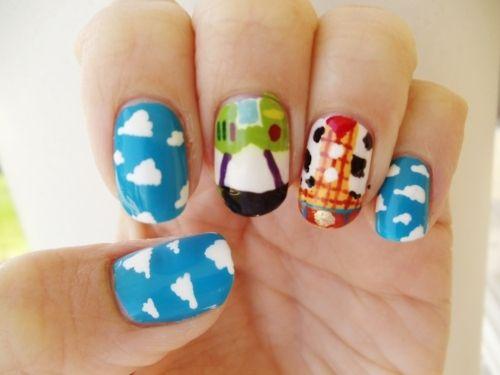 Art Toy Story nail-polish-nail-art-polish-rings-more