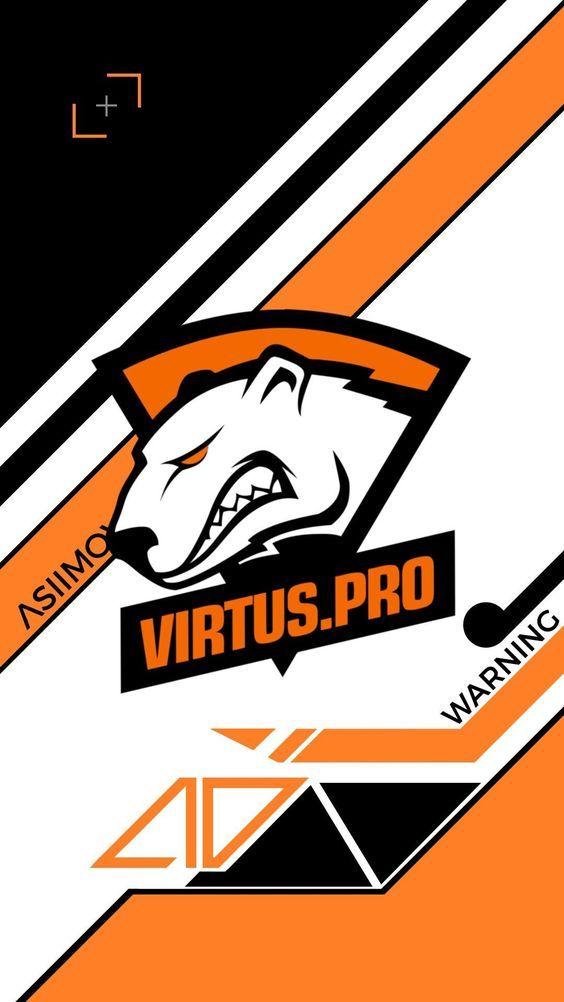 Virtus Pro Logo Wallpaper Ponsel Desain Dan Animasi
