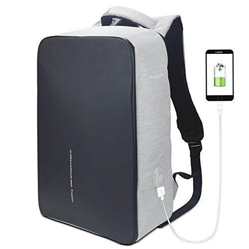 Bizey Sac à dos ordinateur portable 15.6 in environ 39.62 cm Sac à dos BUSINEES Travail Voyage USB port de charge