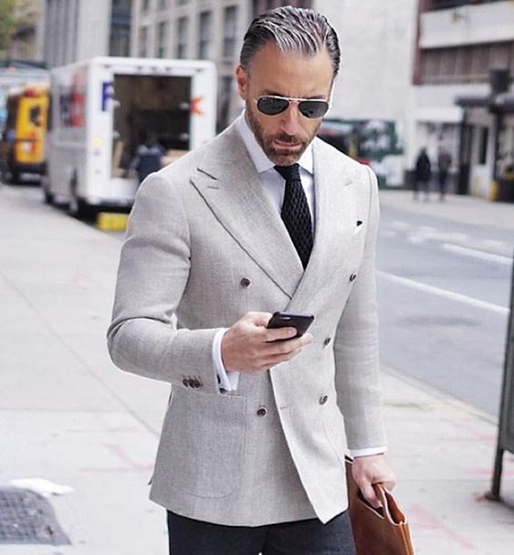 wool tie shirts and knots on