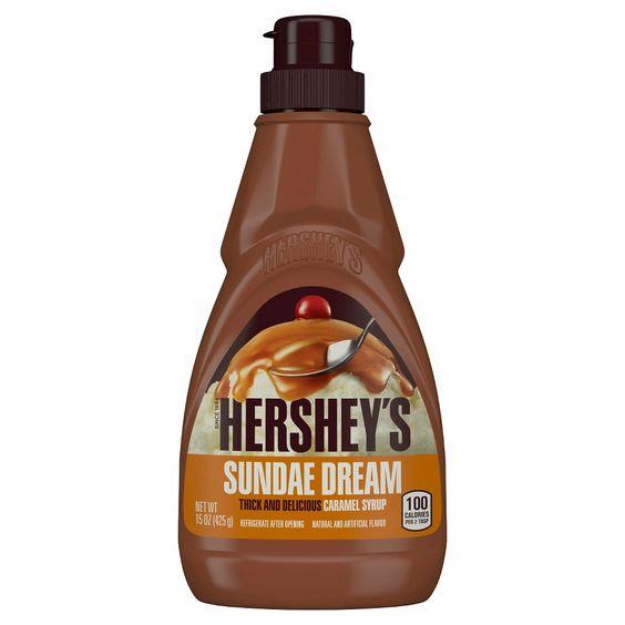 Hershey's Classic Caramel Sundae Syrup 15 oz