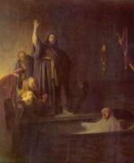 Rembrandt Harmensz. van Rijn: The Raising of Lazarus (1630)