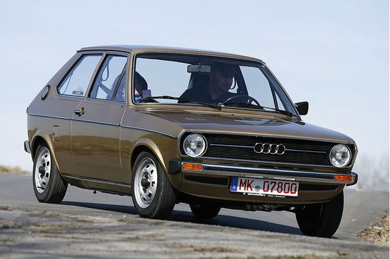 Audi 50 GL (1974) - Das älteste erhaltene Serienmodell. ☺