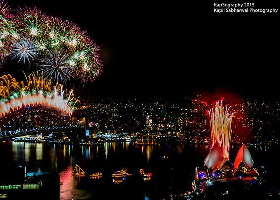 New Year's Eve Fireworks, Sydney 2015 #SydNYE #NYESyd #fireworks #ilovesydney #Sydney #Australia #happynewyear #newyearseve #event #tourist #holiday #attraction #harbourbridge #harbour #operahouse #kapsography #opera #NIkon #NIght #nightphotography #NSW #LongExposure #Lo-fi #Lightroom #amazing #bridge #Colourful #Christmas #D7100 #editing #Exposure #Festival #projections #Laser #Light #NewYear #NewYearEve #happy #KapilSabharwalPhotography #KapSography