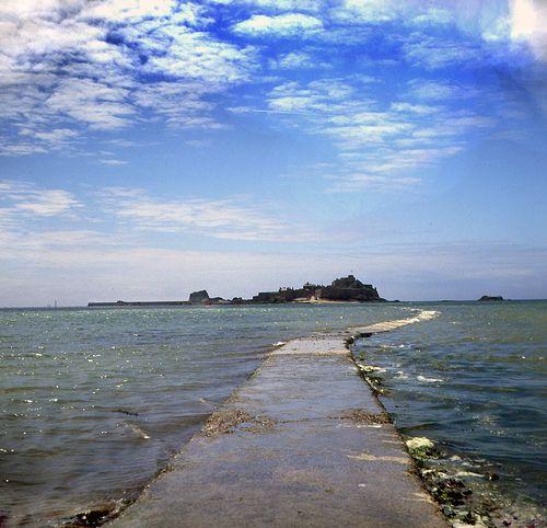 Jersey Channel Islands Elizabeth Castle The Bridge by Beechwood Photography, via Flickr