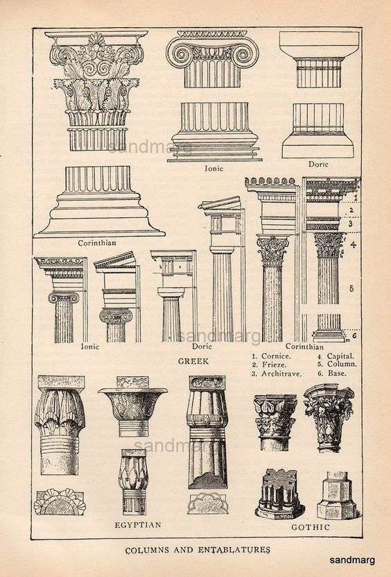 A comparison of the gothic and egyptian architecture
