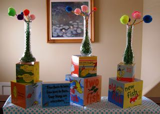 http://busylizzybows.blogspot.com/2011/02/dr-suess-party-decorations.html