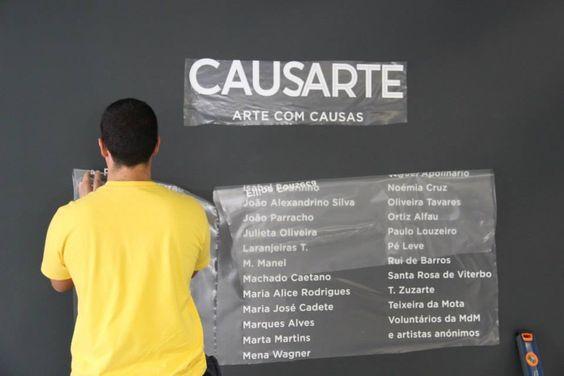 CAUSARTE – Arte com causas – em que a FPC e os CTT se associam à Médicos do Mundo (MdM). Mais informaçõest: http://www.fpc.pt/Museu/Exposi%C3%A7%C3%B5esTempor%C3%A1rias/tabid/131/ctl/Details/Mid/653/ItemID/32745/Default.aspx#sthash.zjhvJbdk.dpuf