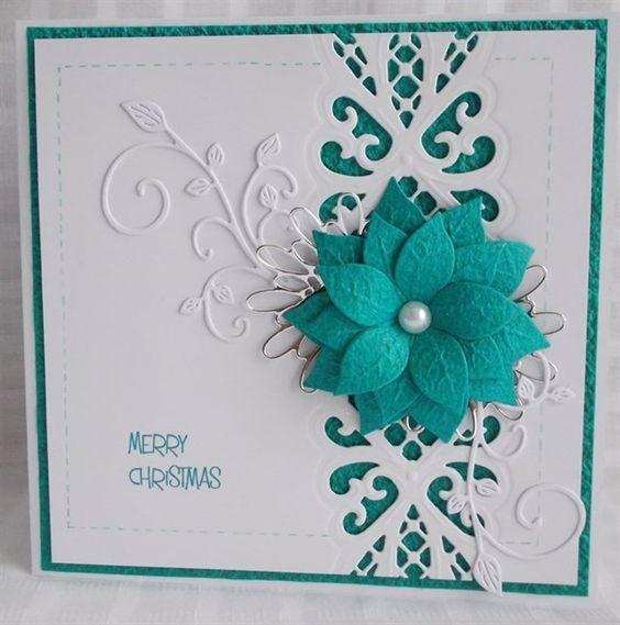 snoflake christmas challenge 2014 weeks 19 - 23   docrafts.com Sue Wilson Regal striplet