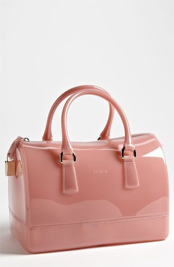 Furla 'Candy' Rubber Satchel | Someone plz tell my husband this is what I want for Christmas... @Bownita Headbands @Bits & Pieces