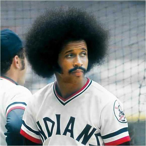 Oscar Gamble and his spectacular afro