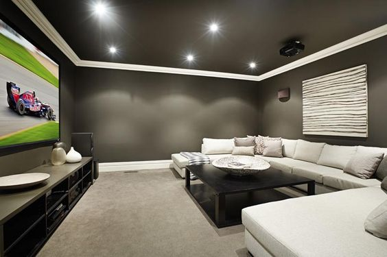 Design Tips For Turning Your Basement Into A Media Room