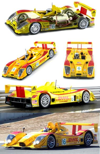 Scalextric C2812 Porsche RS Spyder LMP2, ALMS 2006 (C) [C2812] - $129.95 : Electric Dreams, New and Vintage Slot Cars
