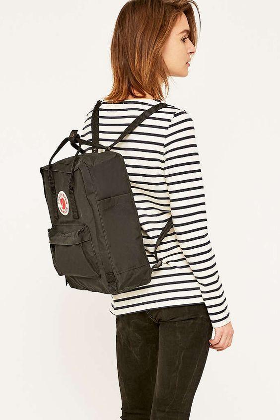 fjallraven kanken classic black backpack