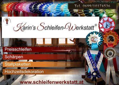 Karin's Schleifen-Werkstatt: Hallo, ich bin Karin aus Tarrenz (TIROL)und habe ...