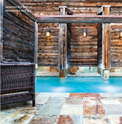Ventana Inn and  Spa Big Sur ..... Clothing optional Spa all to yourself #perfection ;)