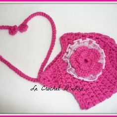 Bonnet bebe  crochet