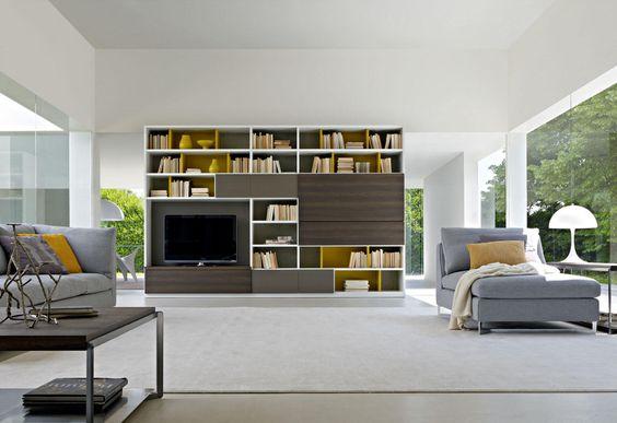 家具 ブランド メーカー インテリア モルティーニ 505 システム収納 コーディネート イメージ サンプル