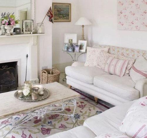 15 Gambar Rumah Dengan Dekorasi Shabby Chic Shabby Chic Living
