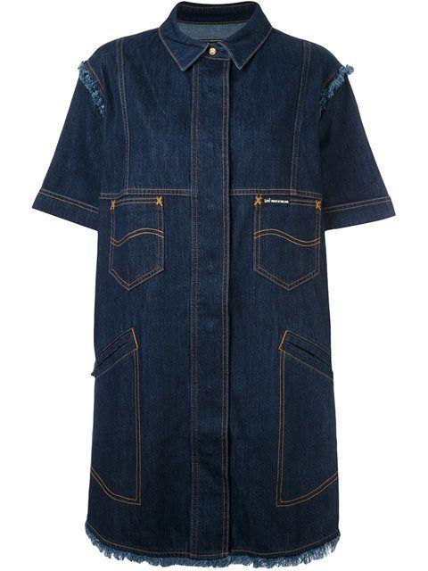 HOUSE OF HOLLAND 'Hoh x Lee Collaboration' shirt dress. #houseofholland #cloth #dress