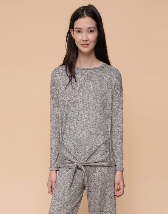 RIBBED CREW NECK SWEATER - CARDIGANS & SWEATERS - WOMAN - PULL&BEAR United Kingdom