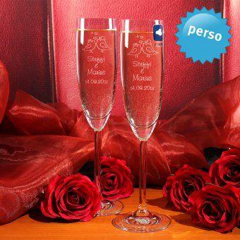 #hochzeit #hochzeitsgeschenk #gravur #sektglas #wedding #geschenke #personalisierbar #gravieren Personalisierbares 2er-Set Sektgläser zur Hochzeit