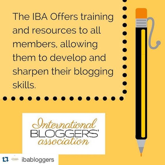 #Repost @ibabloggers  What does The International Bloggers Association do for its members?  It seeks to help its members achieve their blogging goals assisting each blogger to be successful in the digital world.  It strives to be a supportive and positive community for all bloggers regardless of country niche or expertise.  It offers training and resources to all members allowing them to develop and sharpen their blogging skills.  Do you want to be an IBA Blogger too? Go to our website and…