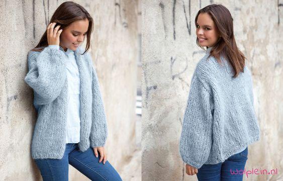 Ingenua vest breien? De winter kan niet beginnen zonder een lekker warm vest…