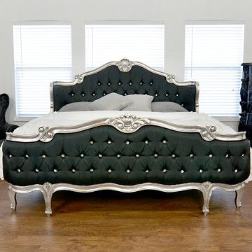 Elise Upholstered King Bed now featured on Fab.