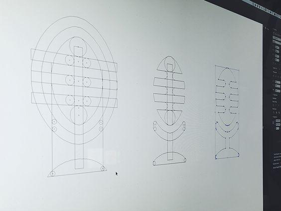 Making logo Tchic-Tchac #vector