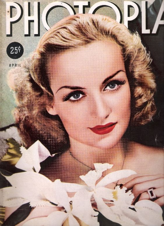 Carole Lombard on PHOTOPLAY in 1938 | Golden Age of Hollywood