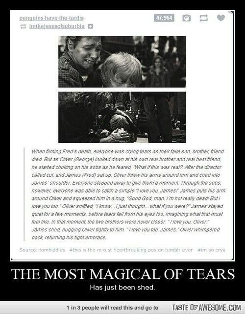 This one was always the most special to me, Fred and George: