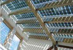 Transparent Solar Panels for windows ~ Way Cool Idea!