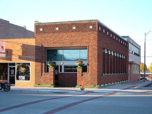 Louis Sullivan: Henry C. Adams Building, Algona, Iowa