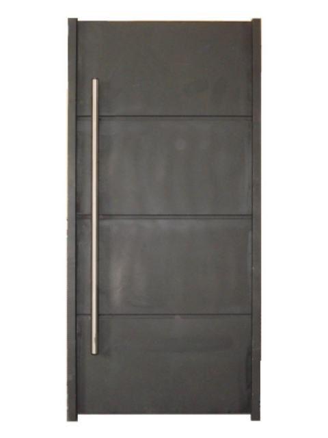 Puertas de patio de servicio de herreria buscar con for Puertas metalicas modernas para exterior