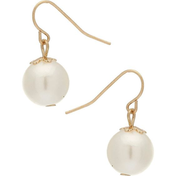 Pearl Drop Earrings - Accessories & Jewellery - New In - evans ❤ liked on Polyvore featuring jewelry, earrings, accessories, pearl earrings jewellery, pearl jewellery, white pearl earrings, pearl jewelry and earrings jewelry