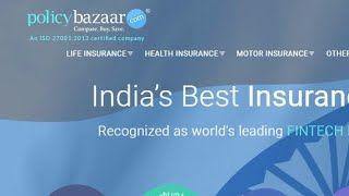 Policybazaar Com Compare Insurance Policies Prashant Debnath