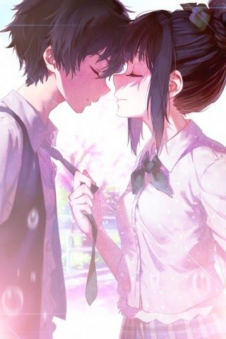 Anime Love Wallpaper : anime, wallpaper, Anime, Wallpaper, Cellphone-, Download, 240x320, Couple, Chitanda, Wallpapers,, Download,