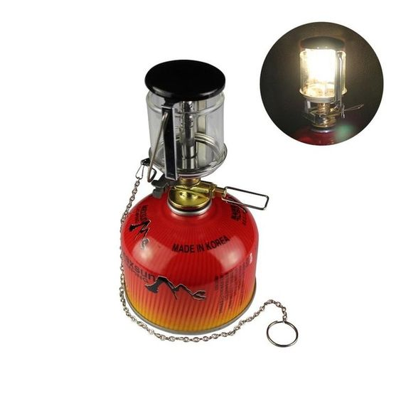 Outdoor Camping Portable Gas Heater Tent Mini Camping Lantern Gas Light Tent Lamp Torch Review Gas Lights Portable Gas Heaters Camping Lanterns