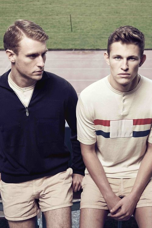 John Smedley x Umbro Olympics special edition lookbook