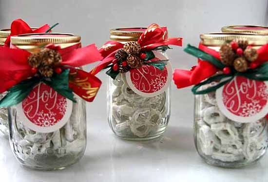 How To Decorate A Jar For Christmas Gift Impressive 8 Creative Things To Do With A Mason Jar  Gift Craft And Mason Design Decoration