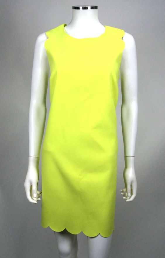J. Crew Scalloped Shift Dress - Size 8 - NWT - Retail price $168 - Our price $70 - Sale supports North Shore Animal League
