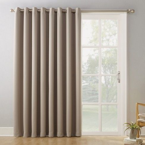 100 X84 Kenneth Extra Wide Blackout Window Curtain Panel Sun