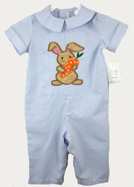 291761  Baby Boy Clothes  Easter Jon Jon  Easter by ZuliKids, $32.50