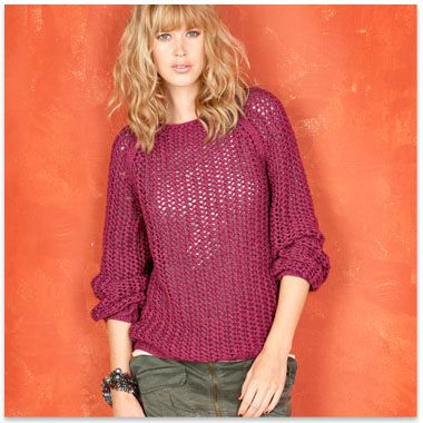 patron tricot pull ete